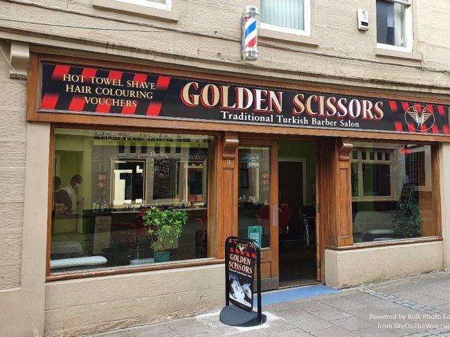 Golden Scissors Turkish Barbours
