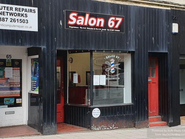 Salon 67 Gents Barbour