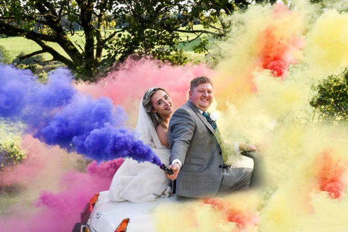 Smoke Bomb wedding ideas
